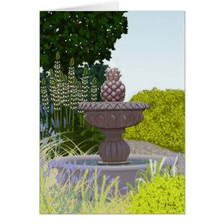 Fountain note card