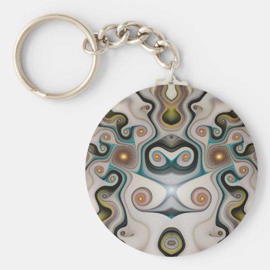 fountain_of_eternal_life basic round button key ring