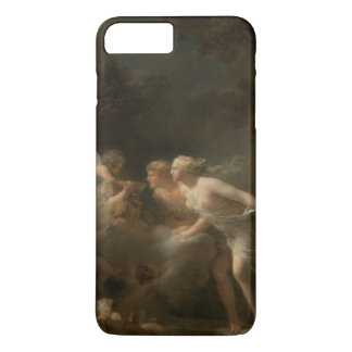 Fountain of Love by Jean-Honore Fragonard iPhone 7 Plus Case