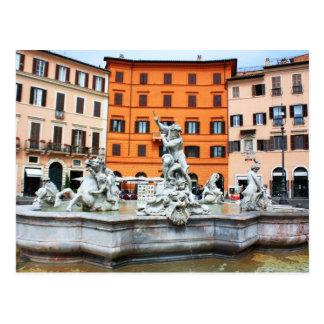 Fountain of Neptune Postcard