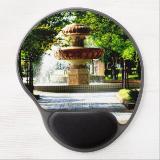 Fountain of object at the Kure Portopia* Gel Mouse Mat