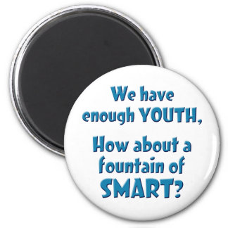 Fountain of SMART 6 Cm Round Magnet