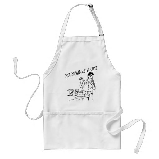 """Fountain of Youth"" Aprons"