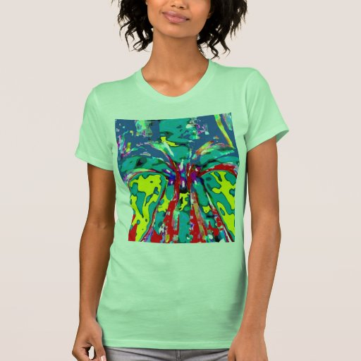 Fountain of Youth -  Floral Energy Pattern T-shirt