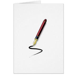 Fountain Pen Card