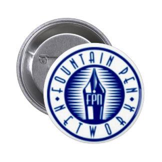 Fountain Pen Network 6 Cm Round Badge