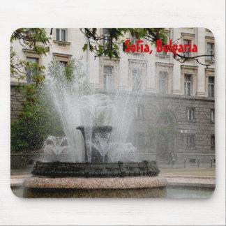 Fountain Sofia, Bulgaria Mouse Pad