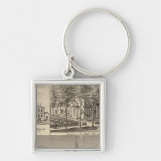 Fountain Spring House & Lain residence Key Ring