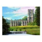 Fountains Abbey Postcard