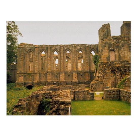 Fountains Abbey, Yorkshire, U.K. Postcard