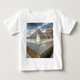 Fountains at The Louvre, Paris France Baby T-Shirt