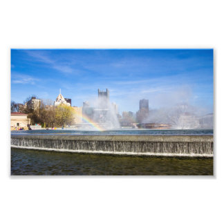 Fountains of Point State Park, Pittsburgh, PA Photo Print