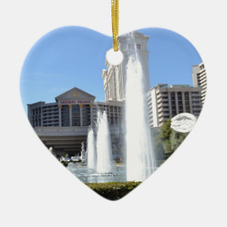 Fountains on the Las Vegas Strip Christmas Ornament