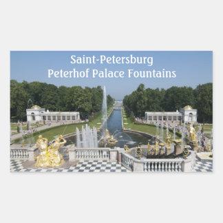 Fountains Rectangular Sticker