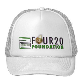 """FOUR20 FOUNDATION"" - Full Logo Classic Snapback Mesh Hats"