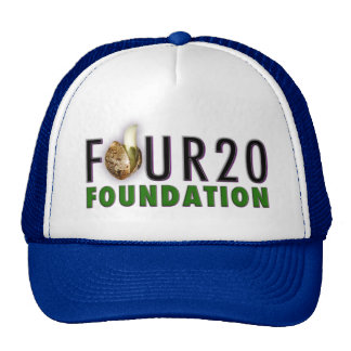 """FOUR20 FOUNDATION"" - Logo Classic Snapback Trucker Hat"
