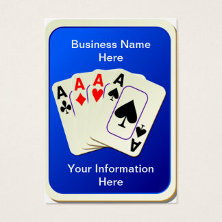 Four Aces Business Cards