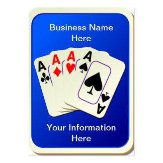 Four Aces Business Cards