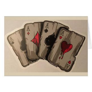 Four Aces Card