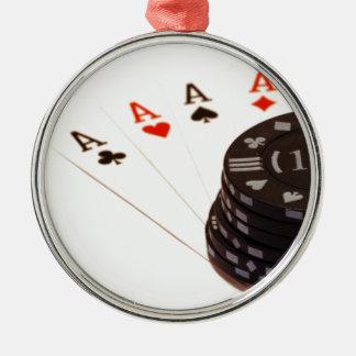 Four Aces Christmas Ornaments