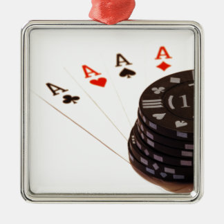 Four Aces Christmas Tree Ornaments