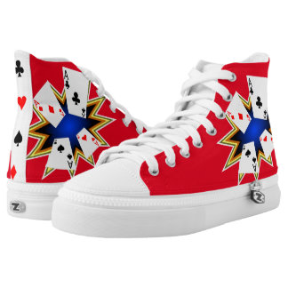 Four Aces Cool Printed Shoes
