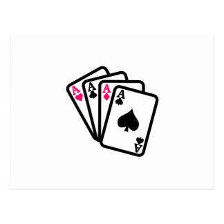 Four Aces Postcard