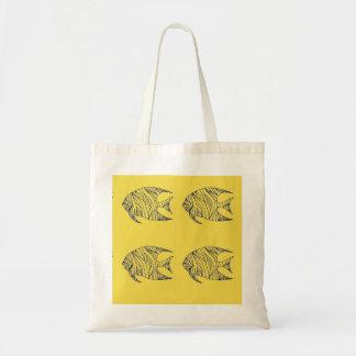 Four Angelfish for Good Luck Tote Bag