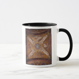 Four angels with the symbols of the mug