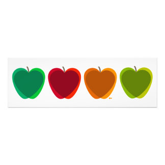 Four Apples Poster Photograph