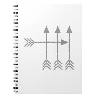 Four arrows notebook