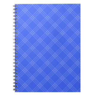 Four Bands Small Diamond - Blue2 Note Book
