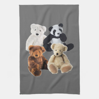 Four bears American MoJo Kitchen Towel