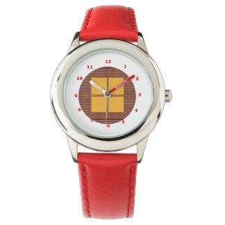 FOUR Beautiful Squres  :    Multiple Strap Choice Wristwatch