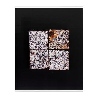 Four Blocks Composition Acrylic Wall Art