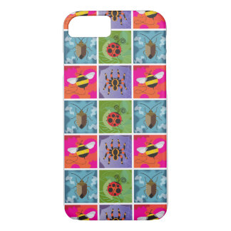 Four Bugs Pattern iPhone 7 Case