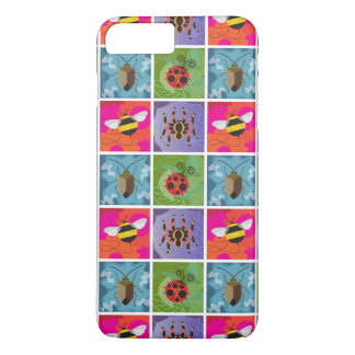 Four Bugs Pattern iPhone 7 Plus Case