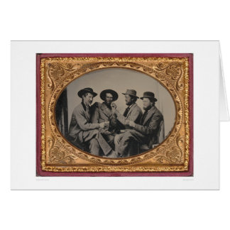 Four California miners  (40030) Greeting Card