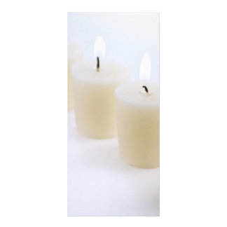 four candles personalized rack card