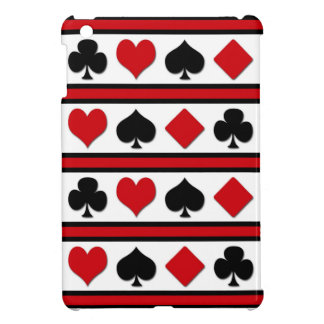 Four card suits iPad mini covers