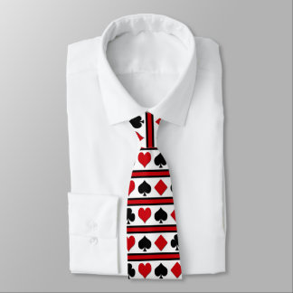 Four card suits tie