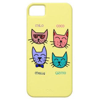Four Cat Friends iPhone 5 Case