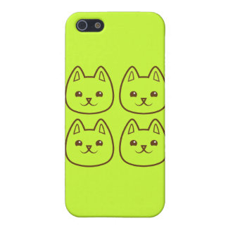 Four CATS iPhone 5/5S Case