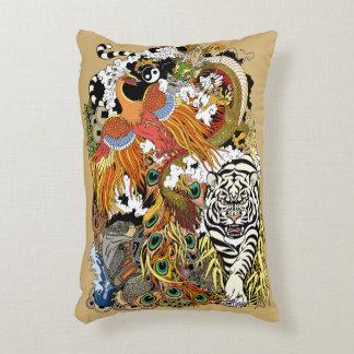 four celestial animals decorative cushion
