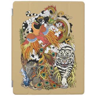 four celestial animals iPad cover