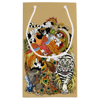four celestial animals small gift bag