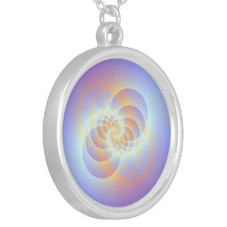 Four Circles Spiral Necklace