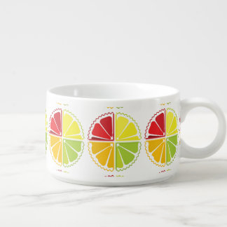 Four citrus fruits chili bowl