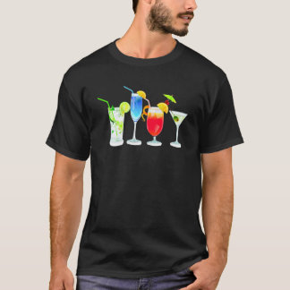 Four Cocktails T-Shirt