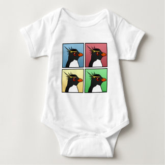 Four Color Rockhopper Baby Bodysuit